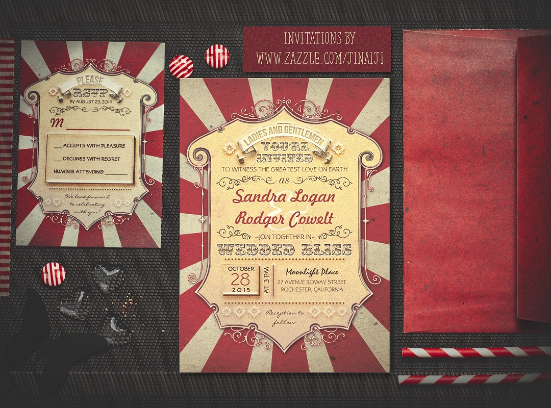 Carnival Wedding Invitations – NEED WEDDING IDEA ?