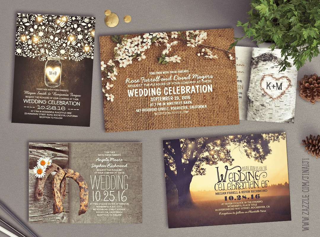 rustic wedding invitations my favorite need wedding idea - Country Rustic Wedding Invitations