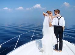 yacht wedding nautical